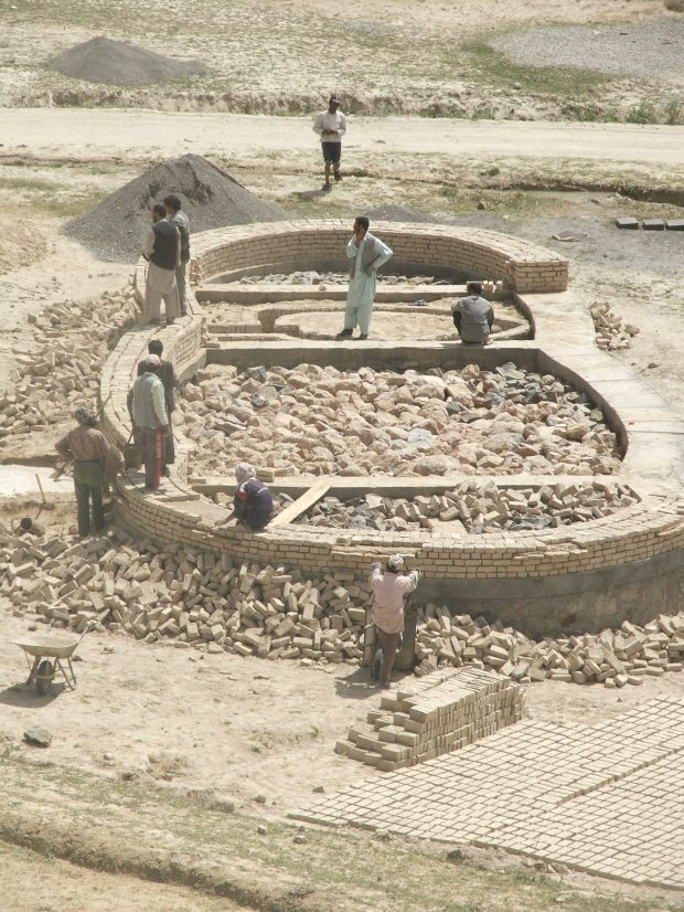 1_Afghanistan_Band i Amir_foundation construction