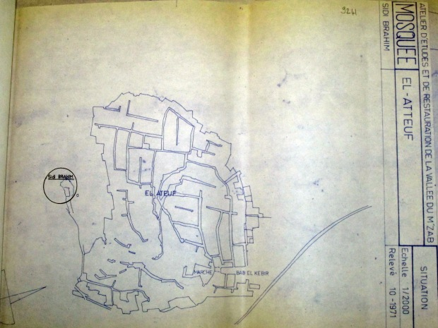03.Sidi-Brahim Mosqu_UNESCO_site plan