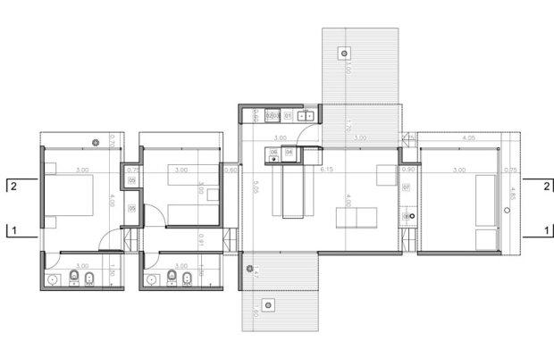 7.Casa AV_bak arquitectos_14_floor plan