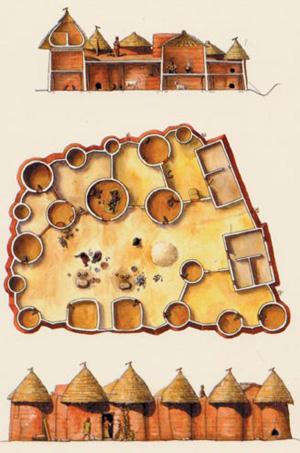 19.Benin_Tata_Somba_drawings_www.pendjari.net