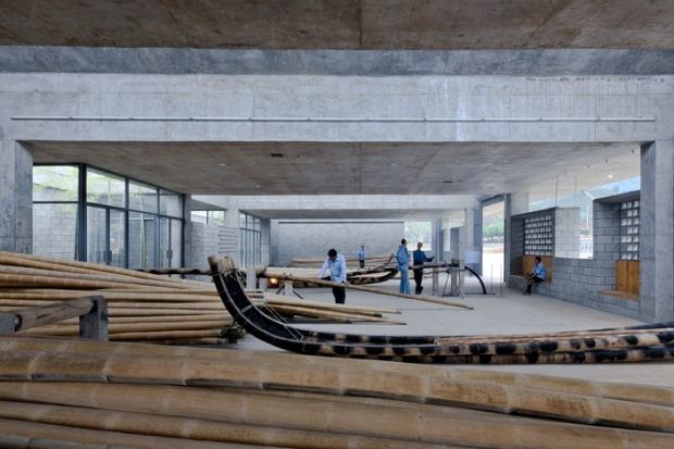36_china-Wuyishan-Bamboo-Raft-Factory_tao-architects_08