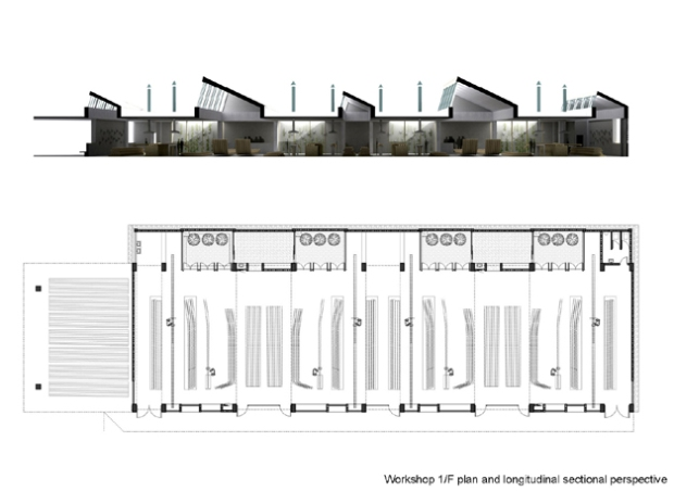 36_china-Wuyishan-Bamboo-Raft-Factory_tao-architects_plan_sectional-perspective